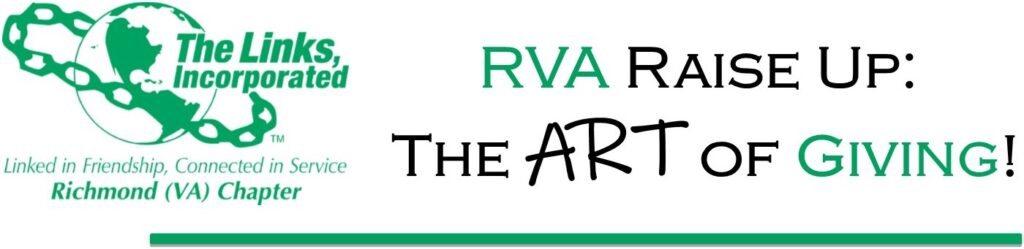 rva raise up: the art of giving